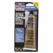 Ultra Series RTV Silicone Gasket Maker, 90ml Tube, Copper, Sold As 1 Each