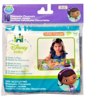 Neat Solutions Eco Table Topper, Disney Doc McStuffins, 10 Ct