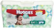 HUGGIES One & Done Refreshing Baby Wipes, Cucumber & Green Tea 64 ea