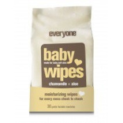 Baby Wipes Unscented EO 30 count Container