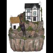 Kelkay Tudor Cottage Inc Led Water Feature