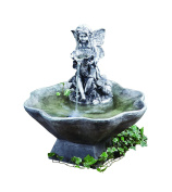 Liberty 1052870 Blagdon Flower Fairy And Bowl Mains Free Water Feature