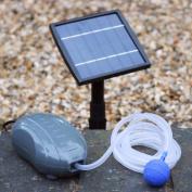 Solar Oxygenator Air Pump For Pond - 1.5w Aerator Oxygen Pump Kit 1 Stone For