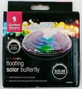 Floating Vibrant Solar Butterfly Lights - Colour Changing Solar Lights For