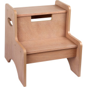 Levels of Discovery Oak Finish 2-Step Stool