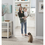 Storkcraft Easy Walk-Thru Tall Metal Safety Gate, Choose Your Finish