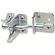 344655 10cm Adjust-O-Matic Gate Latches Zinc Plated- For In-Swinging Gate