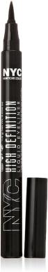 New York Colour High Definition Liquid Eyeliner, Extra Black [889] 0ml