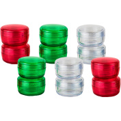 iGo Travel Container Jars, 12 count
