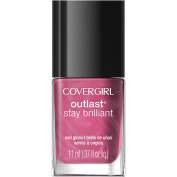 CoverGirl Outlast Stay Brilliant Nail Gloss, 40 Petal Power, 10ml