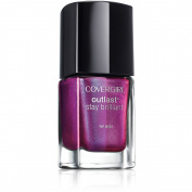CoverGirl Outlast Stay Brilliant Nail Gloss, 45 Fuchsia Flame, 10ml