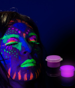 Glominex Glow Body Paint Single Pack Clamshell - Purple