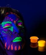 Glominex Glow Body Paint Single Pack Clamshell - Orange