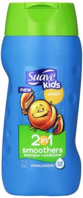 Suave Kids 2-in-1 Shampoo & Conditioner, Peach 350ml