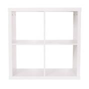 Living & Co Valencia 2 x 2 Cube Storage Shelf White
