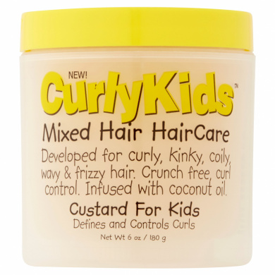Curly Kids Custard for Kids, 180ml
