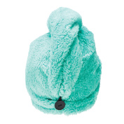 Studio Dry Turban Hair Towel, Mint Green
