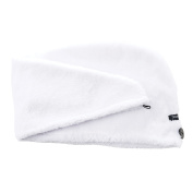 Studio Dry Turban Hair Towel, White