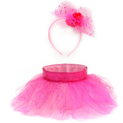Easter Wal-mart TuTu Basket/Headband Set, Hot Pink