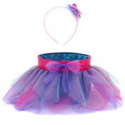 Easter Wal-mart TuTu Basket/Headband Set, Teal