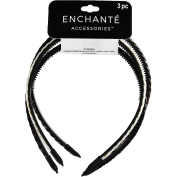 Enchante Accessories Braided Headbands, 3 ct