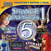 Encore Software 39170 Strange Adventures Collector's Edition Volume 1 Mystery Masters for Mac