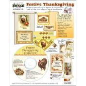ScrapSMART Festive Thanksgiving Collection CD-ROM