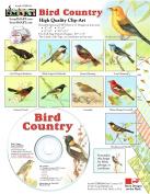 Bird Country Clip-Art CD-ROM