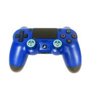 Emio 00320 Capcom Mega Man Performance Joystick Grips, Blue
