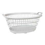 Necessities Brand Laundry Basket 35L White