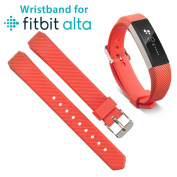 EEEKit Replacement Wrist Band Soft Silicon Strap Clasp Buckle For Fitbit Alta / Fitbit Alta HR