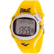 Everlast HR5 Finger-Touch Heart Rate Monitor Watch, Yellow Plastic Strap