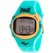 Everlast HR5 Finger-Touch Heart Rate Monitor Watch, Turquoise Plastic Strap