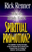 Who is Ready for a Spiritual Promotion