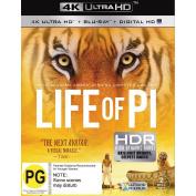 Life of Pi 4K Blu-ray 1Disc