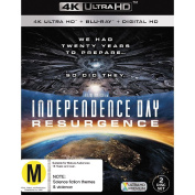 Independence Day 4K Blu-ray 3Disc