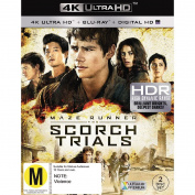 The Maze Runner Scorch Trials 4K Blu-ray 1Disc