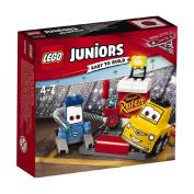 Disney LEGO Juniors Guido and Luigi's Pit Stop 10732