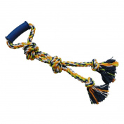 Petzone Dog Rope Pet Toy with Handle 40cm