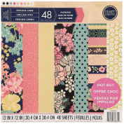 Craft Smith Chelsea Lane Paper Pad 30cm x 30cm 48 Heavy Weight Sheets