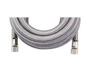 Certified Appliance Braided Stainless Steel Ice Maker Connector - 7.6m