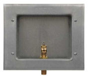 GUY grey 88158 Outlet Box, Ice Maker, 1/2 in MIP, Low Lead
