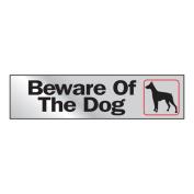 5.1cm x 20cm Beware of Dog Sign
