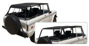 Rampage 98235 Safari Island Topper Soft Top; Black Diamond;