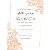 Classic Floral Standard Wedding Invitation