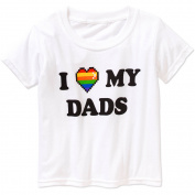 Toddler Unisex I Love my Dads Graphic Tee