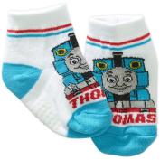 Thomas the Train Infant Newborn Baby Boy Quarter Socks, 3-Pack