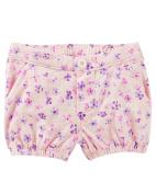 OshKosh B'gosh Baby Girls' Floral Bubble Shorts, 6 Months