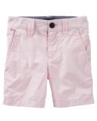 OshKosh B'gosh Baby Boys' Flat Front Shorts, Pink, 6 Months