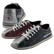 Classic Rental Shoe Ladies BLUE/RED / 8 1/2